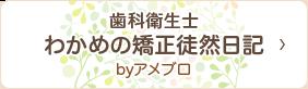 歯科衛生士わかめの矯正徒然日記byアメブロ